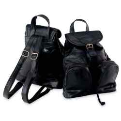 Wholesale Lambskin Leather Backpack/Purse for sale at bulk cheap prices!