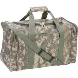 "Wholesale Digital Camo 17"" Duffle Bag for sale at  bulk cheap prices!"