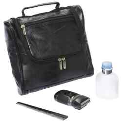 Wholesale Lambskin Leather Toiletry Bag for sale at bulk cheap prices!