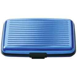 Wholesale Blue Aluminum Wallet for sale at bulk cheap prices!