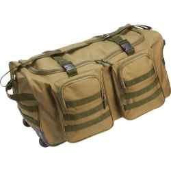 "Water-Resistant 26"" Wheeled Duffle Bag"