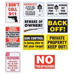 Wholesale 10pc Sign Set for sale at bulk cheap prices!