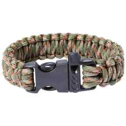"Wholesale 9"" Army Green Camo Paracord Bracelet for sale at bulk cheap prices!"