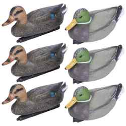 Wholesale 6pc Mallard Duck Decoy Set for sale at  bulk cheap prices!