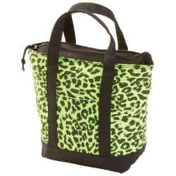 Wholesale Neon Green Leopard Print Lunch/Cooler Bag for sale at  bulk cheap prices!