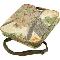 Water-Resistant Camo Seat Cushion