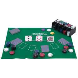 208pc Texas Hold'em Poker Set