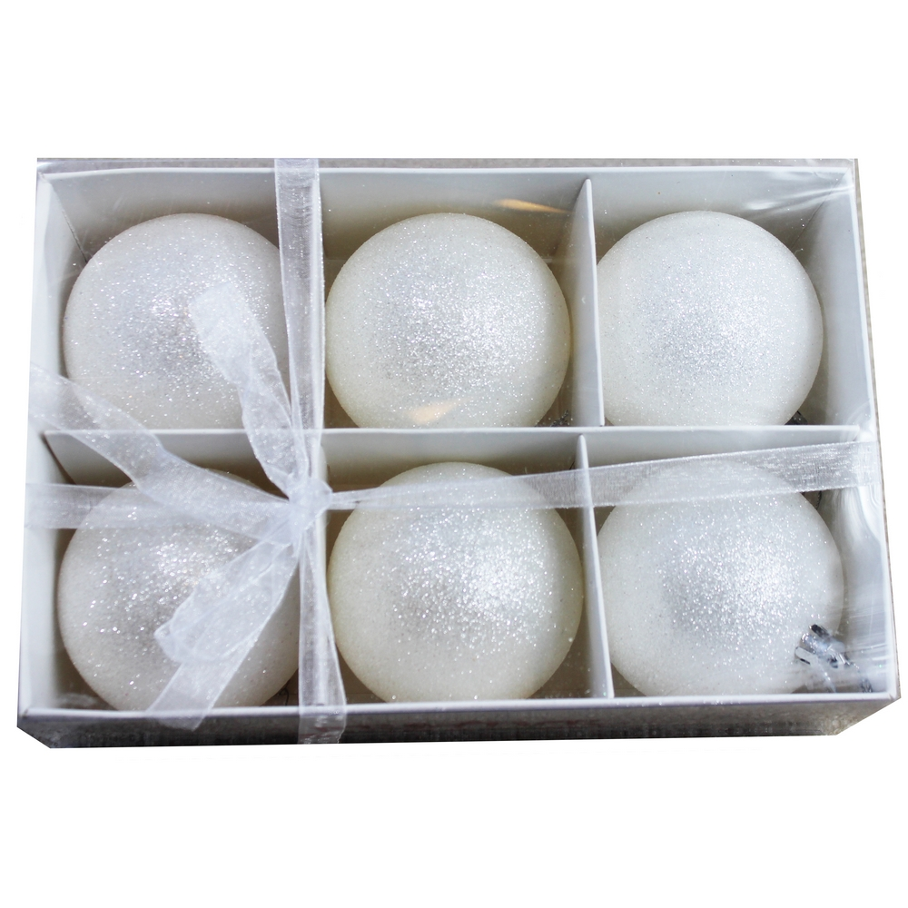 Wholesale Frosted Snowball Christmas Ball Ornaments - Buy ...