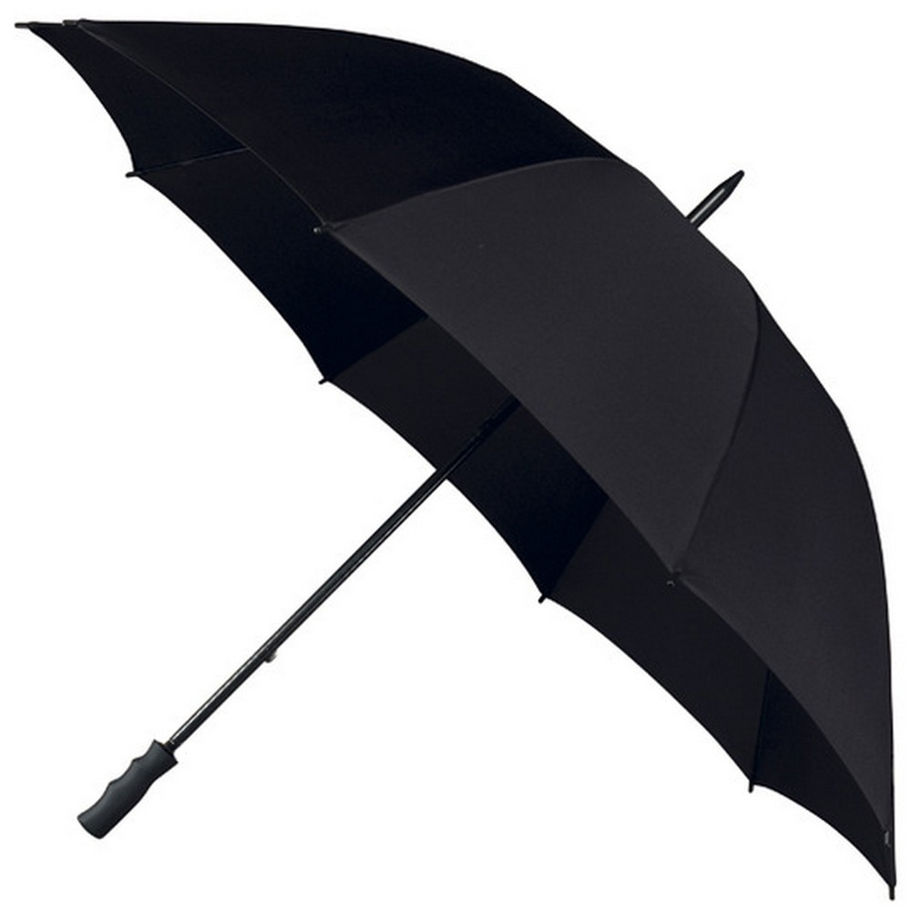 "55"" All Black Golf Umbrellas"