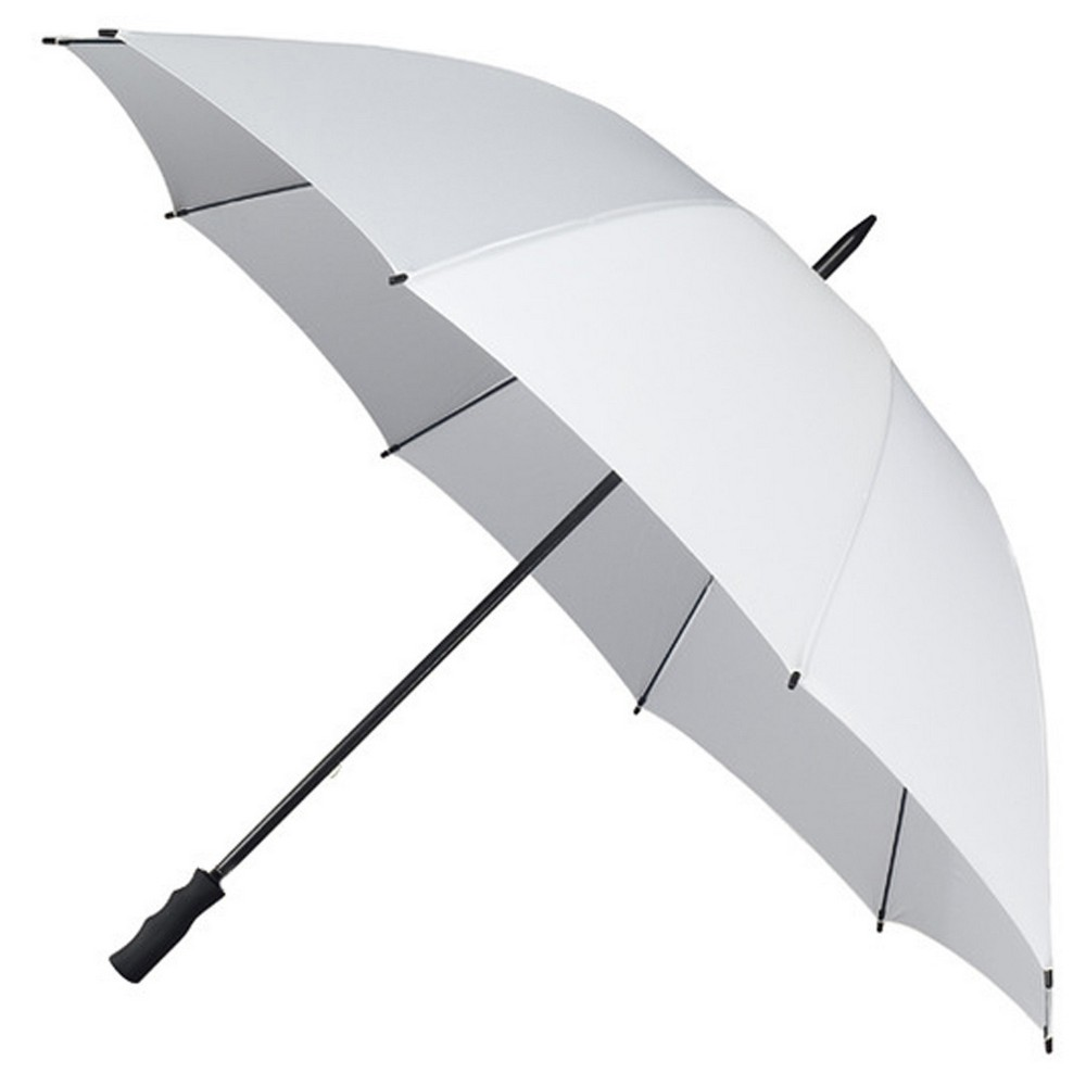 "55"" White Wedding Golf Umbrellas"