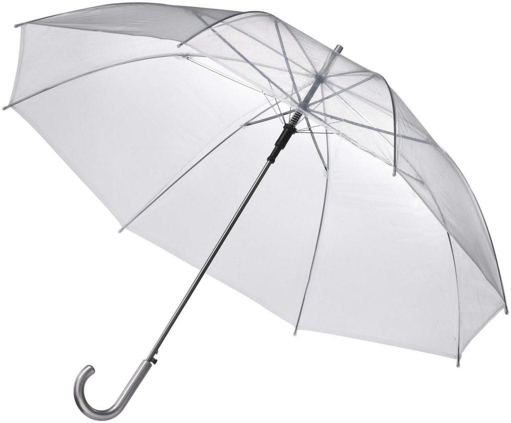 "Wholesale 46"" Auto Open Clear Umbrella for sale at bulk cheap prices!"