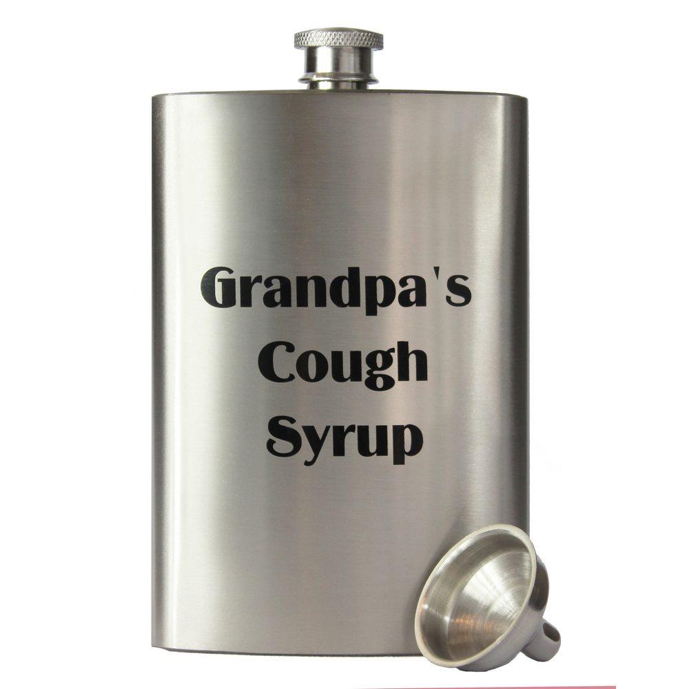 wholesale primo 8oz grandpa s cough syrup flask buy wholesale