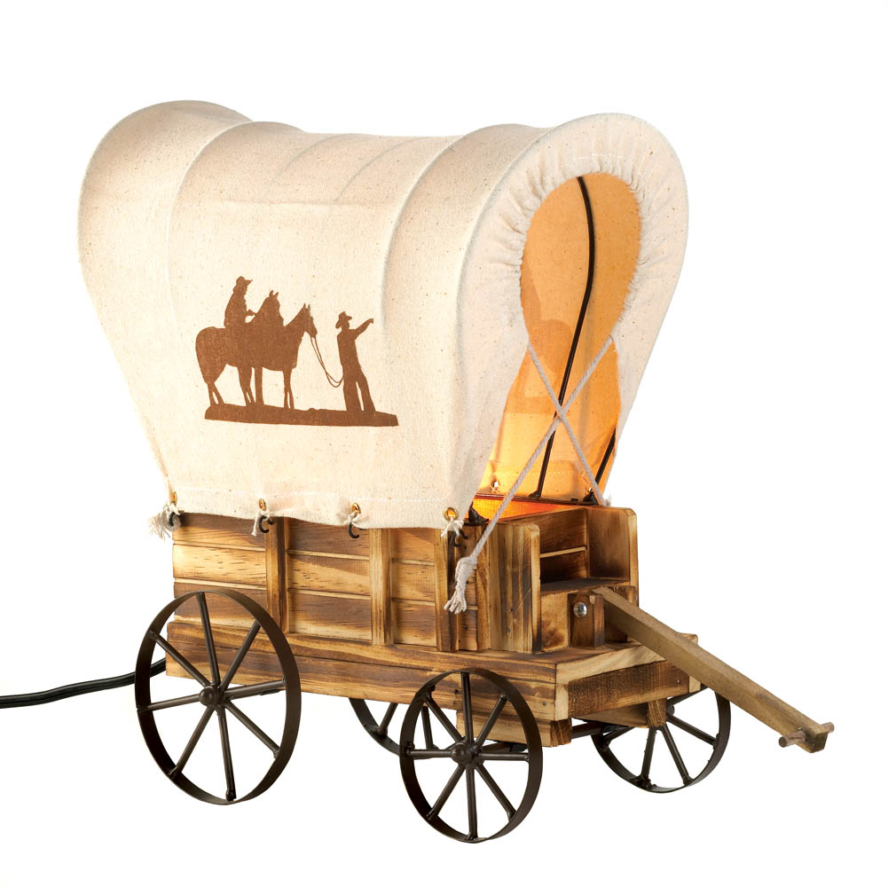Wholesale Western Wagon Table Lamp