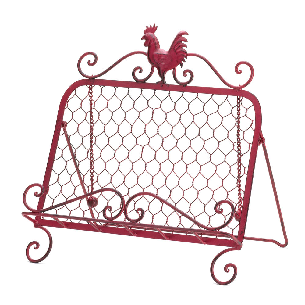 kitchen accessories wholesale rooster cookbook stand buy 2160