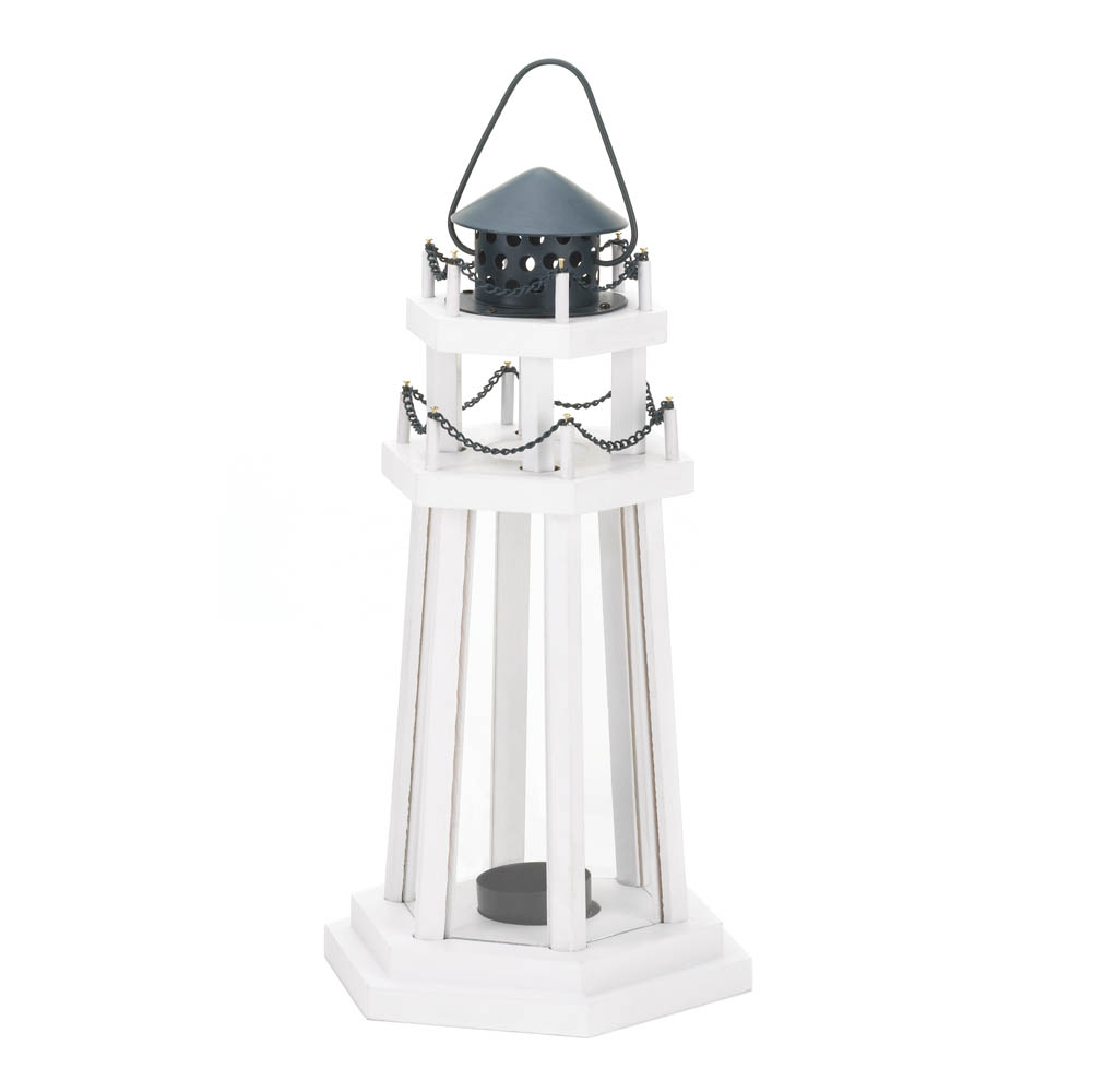 Wholesale Lighthouse Point Wooden Lantern - Buy Wholesale Candle ...