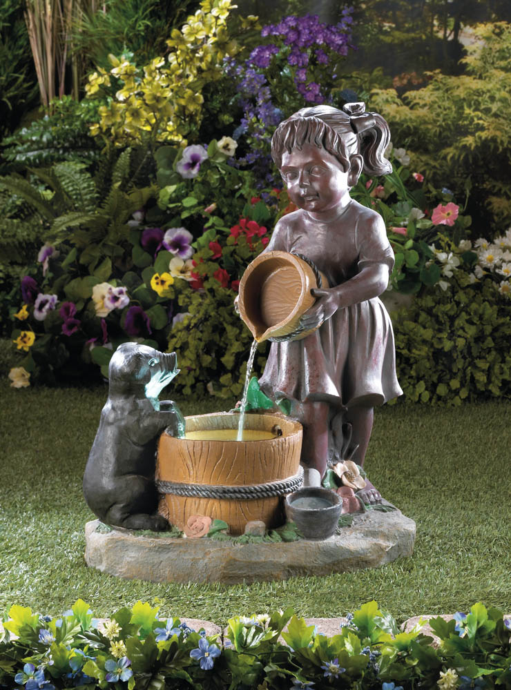 Water Fountain Garden: Wholesale Bucketful Outdoor Fountain