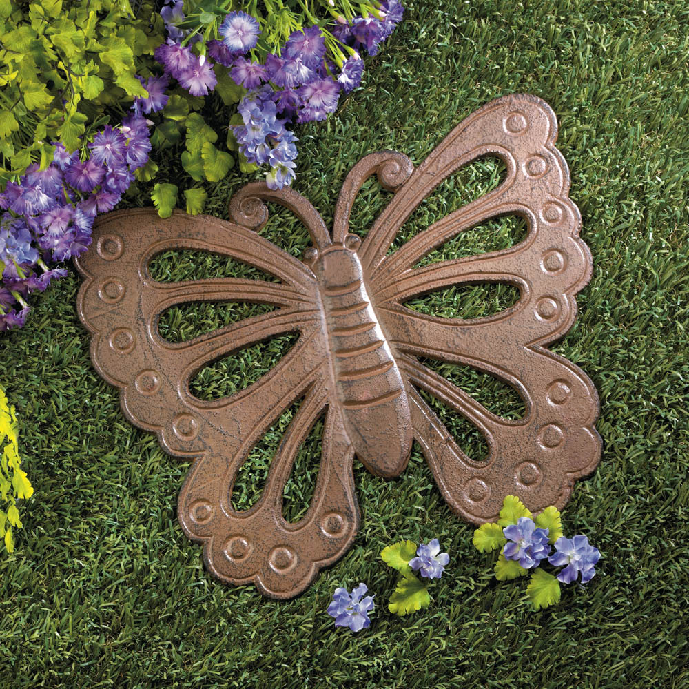 Wholesale butterfly stepping stone buy wholesale garden for Decorative garden accents
