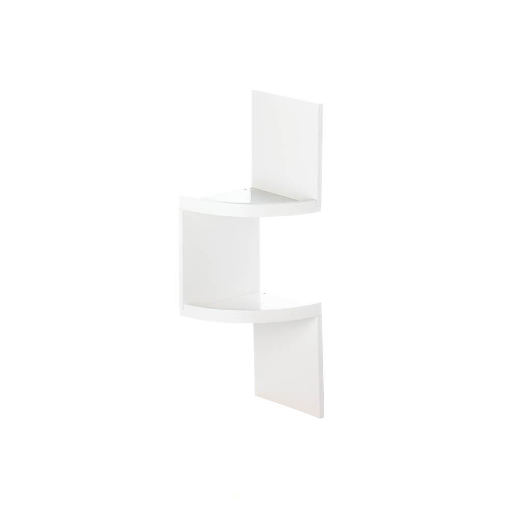 Wholesale 2 Tier White Corner Shelf Buy Wholesale Shelves