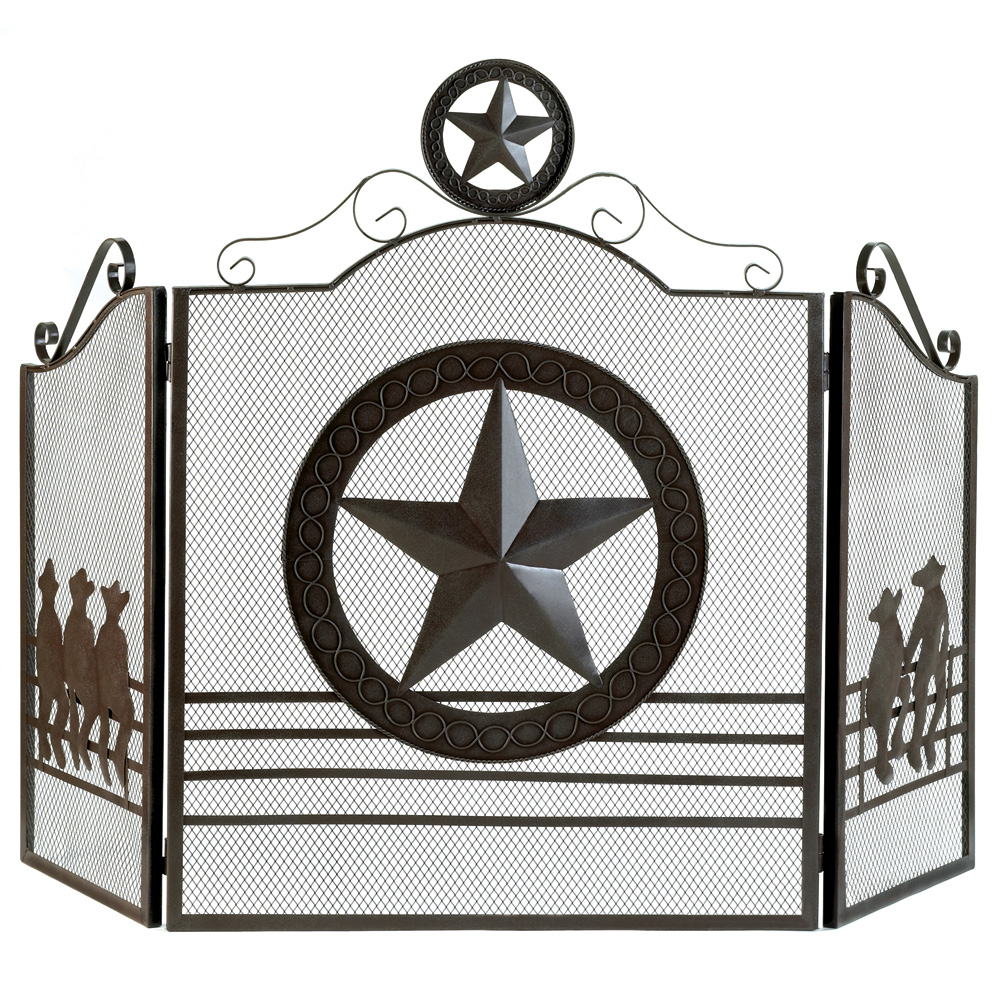 Home Decor Wholesalers Usa: Wholesale Lone Star Fireplace Screen