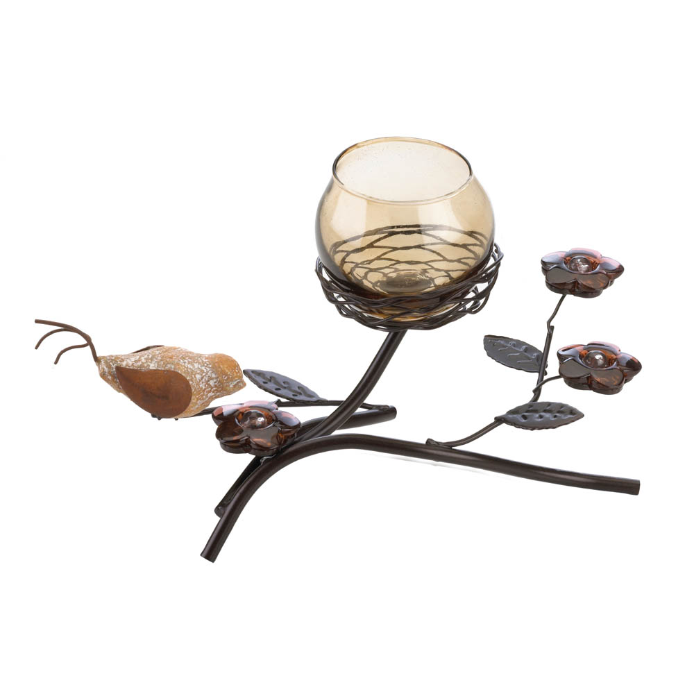 Wholesale partridge nest tealight holder buy wholesale for Nest candles where to buy