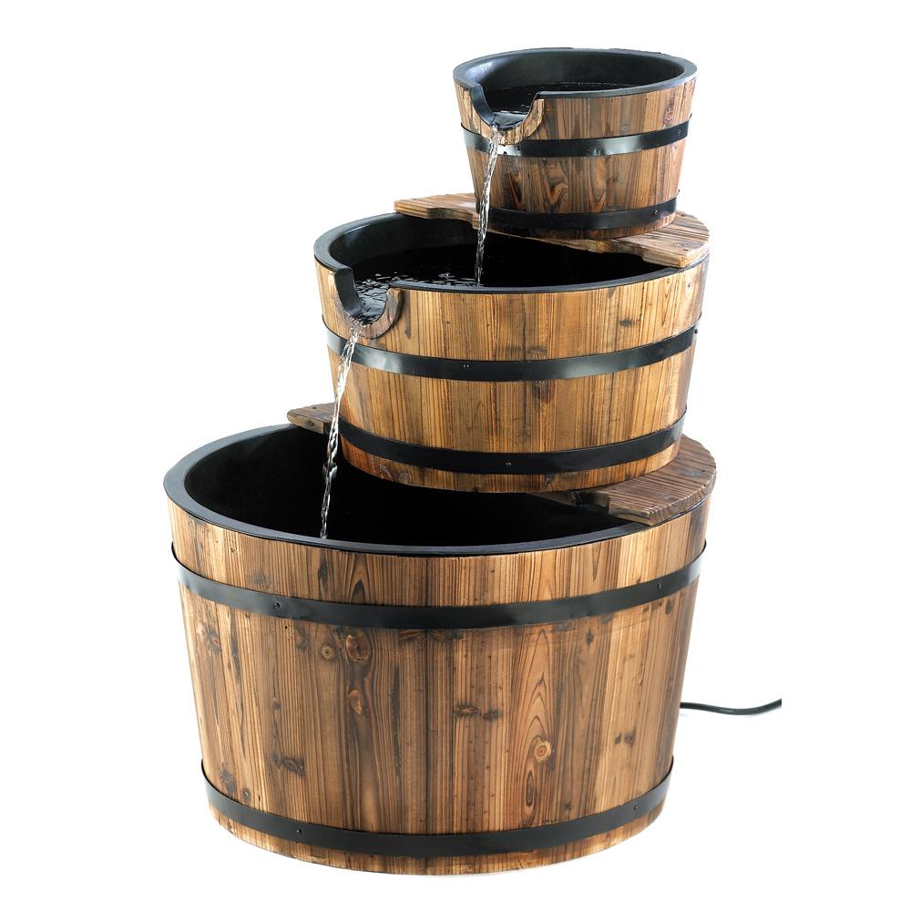 Wholesale Apple Barrel Fountain - Buy Wholesale Garden ...