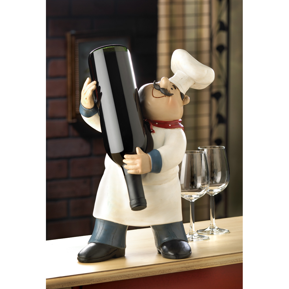 wholesale happy chef wine holder buy wholesale wine decor