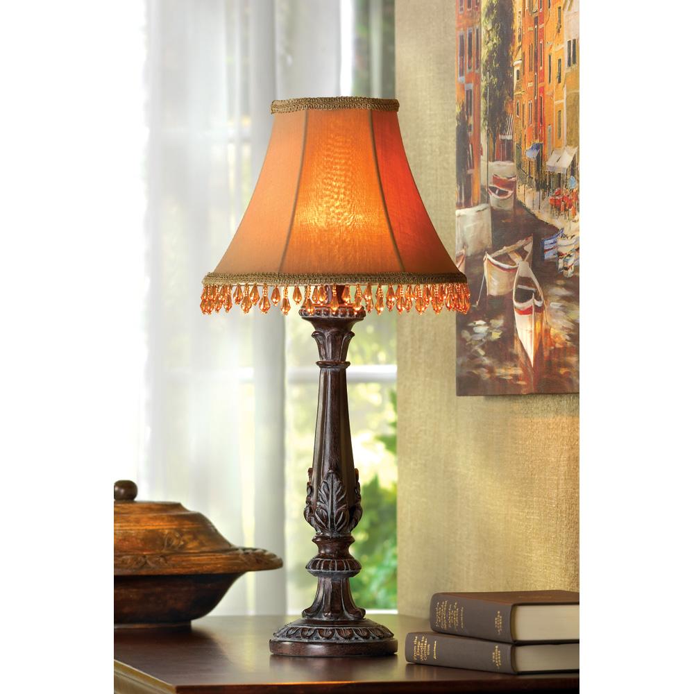 Beaded Shade Lamp - 32276