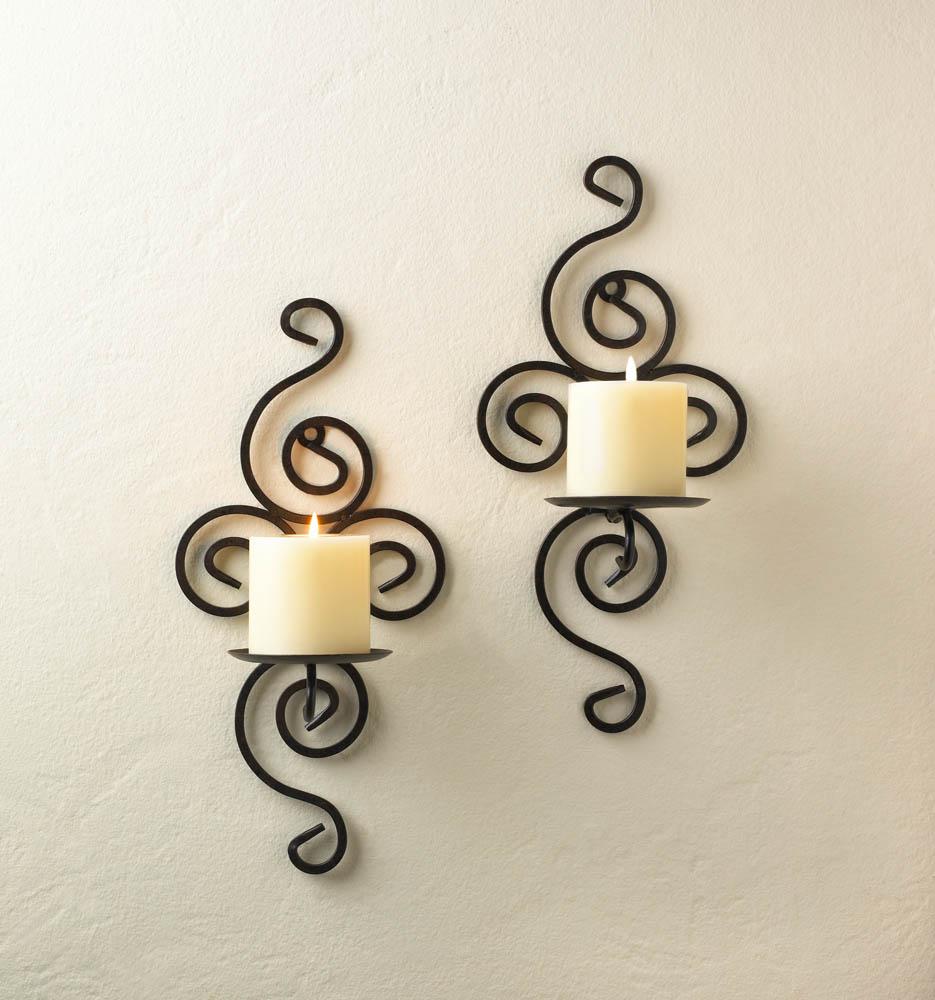 Wholesale Wrought Iron Swirl Sconces - Buy Wholesale Candle Sconces