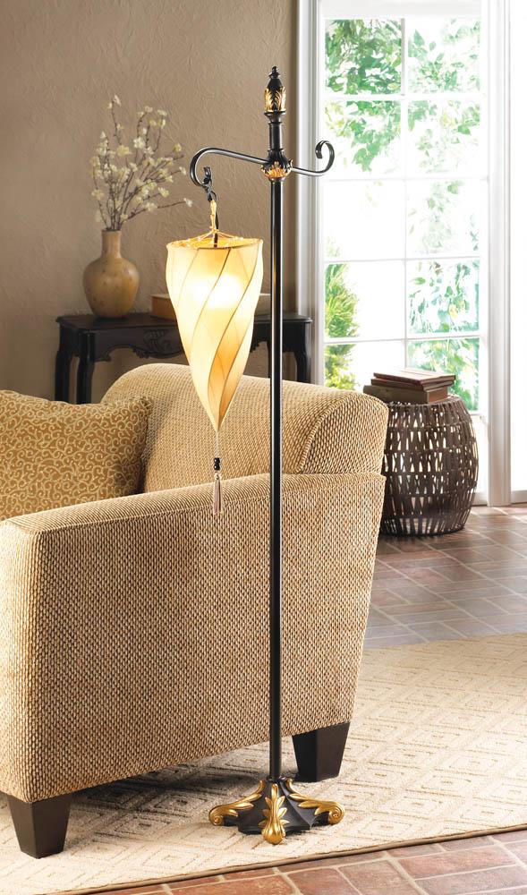 Wholesale hanging shade floor lamp buy wholesale lamps for Glass hanging floor lamp