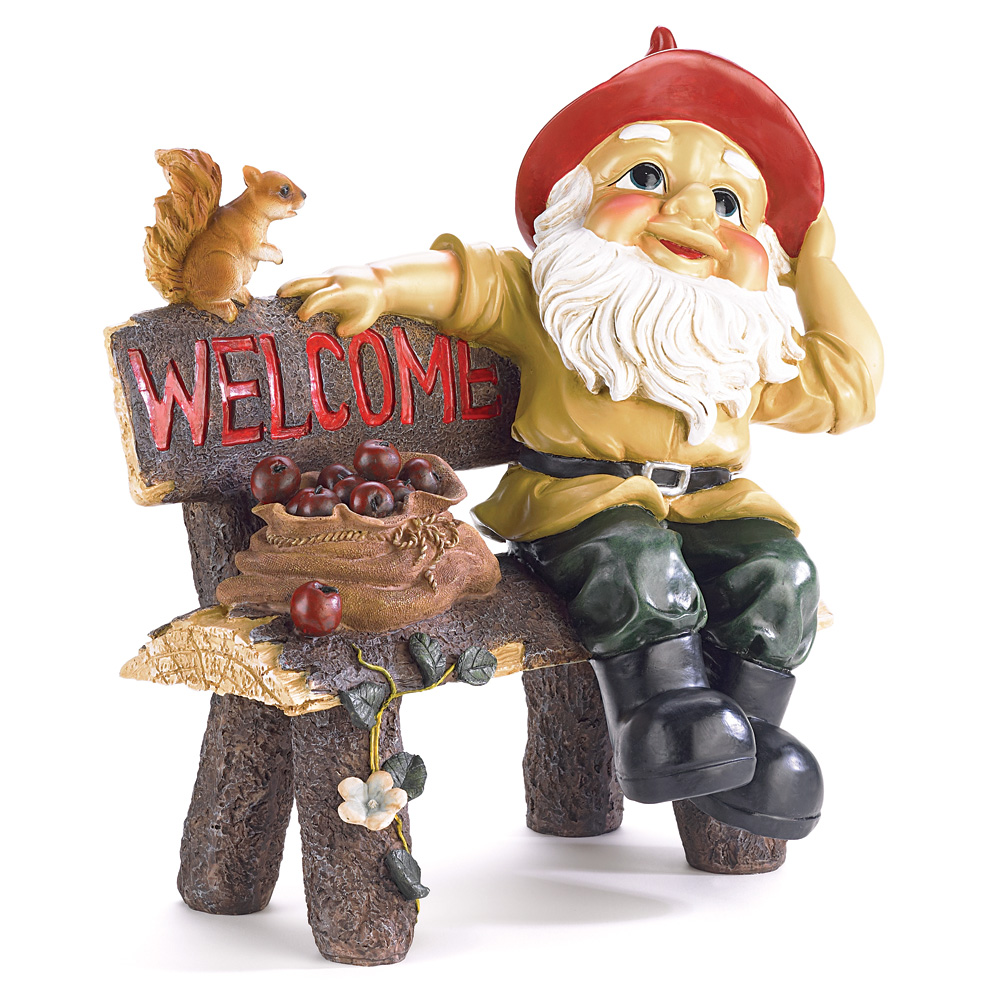 wholesale garden gnome greeting sign buy wholesale gnomes