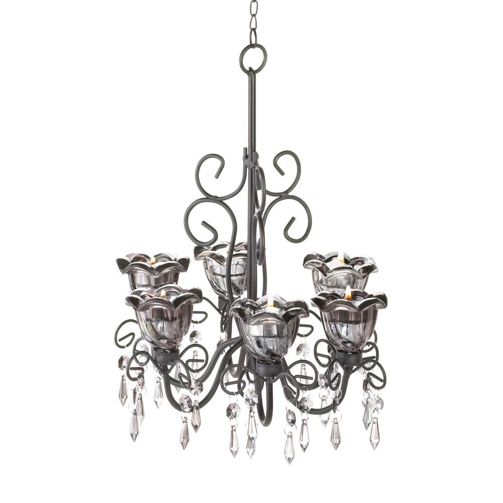 Wholesale midnight blooms chandelier buy wholesale candle holders midnight blooms chandelier 10016072 aloadofball Gallery