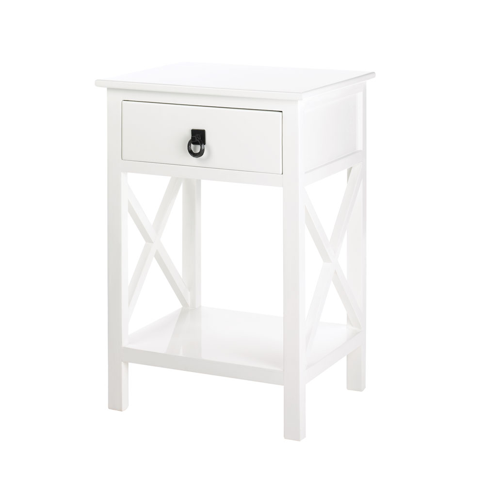 White Side Tables wholesale white glossy finish side table - buy wholesale tables