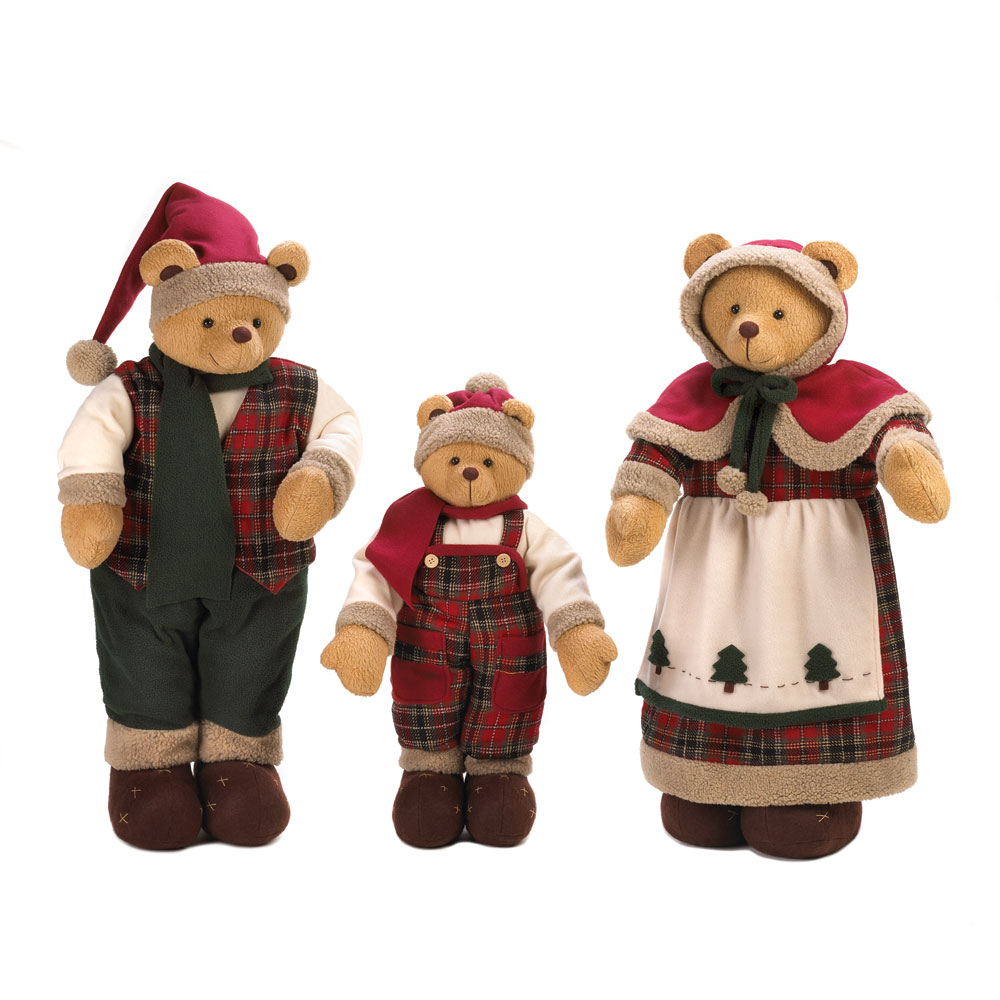 Wholesale holiday bear family decor buy wholesale for Cheap christmas decorations sale