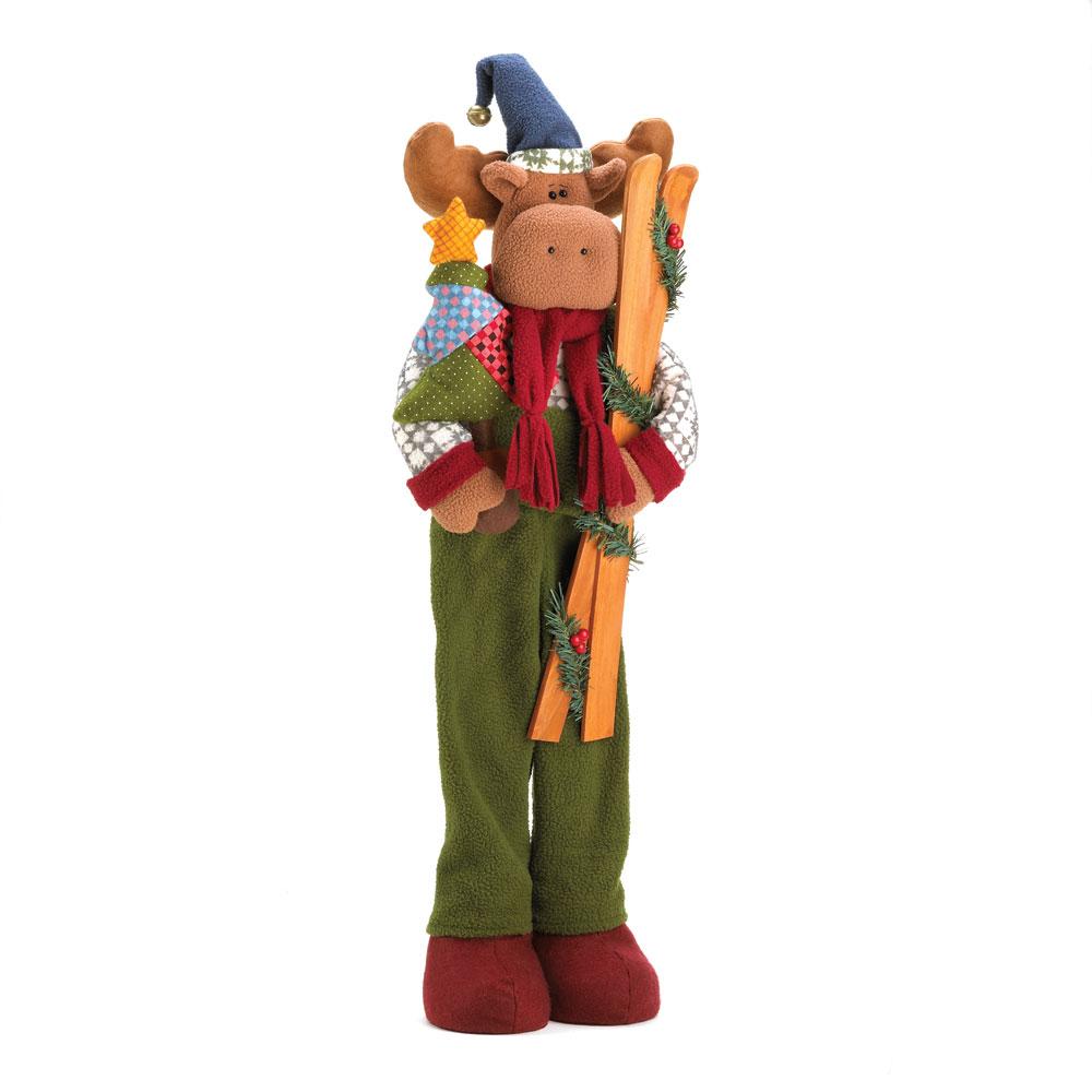 Wholesale Holiday Moose Plush Decor - Buy Wholesale Christmas Decor