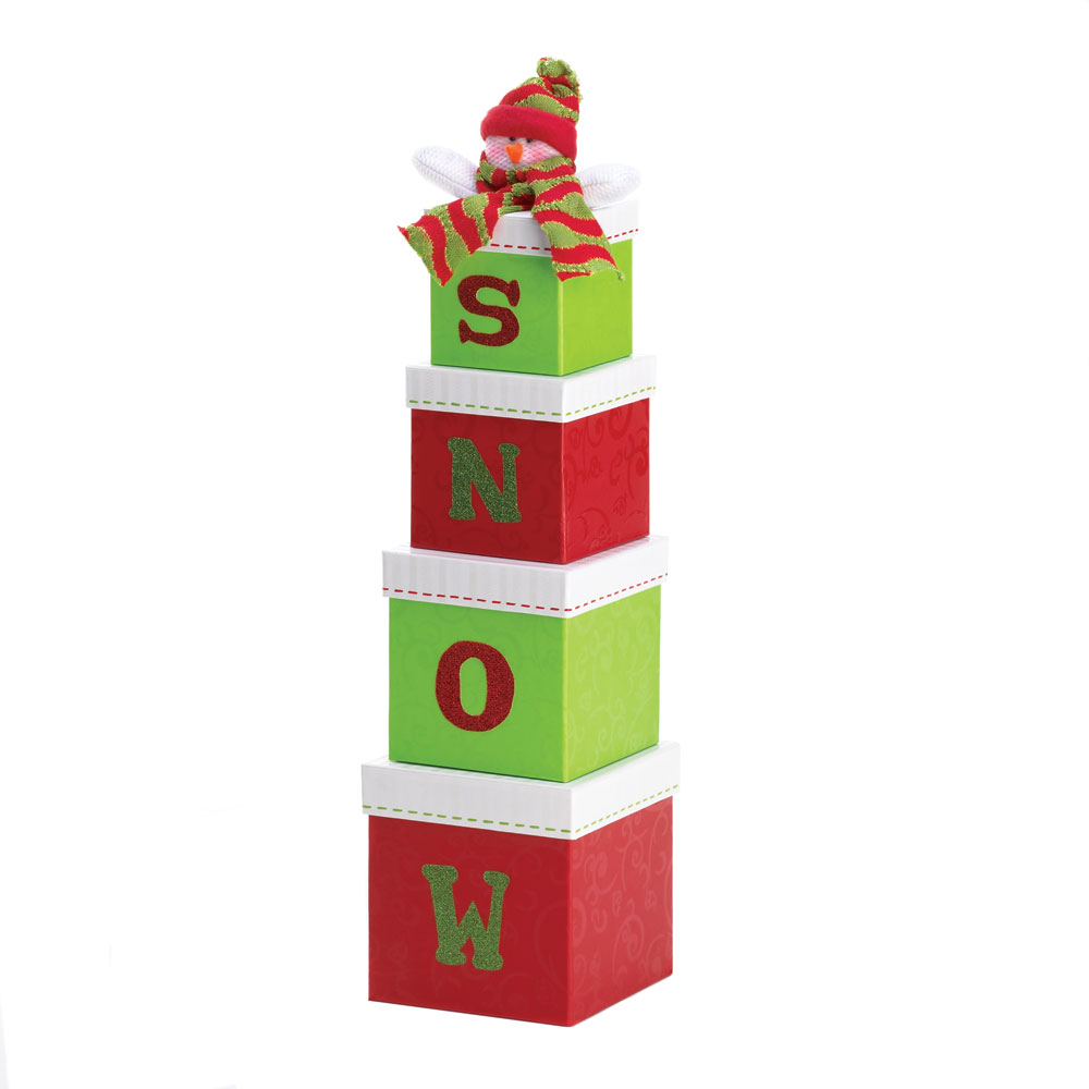 Wholesale quot snow holiday gift boxes buy snowmen