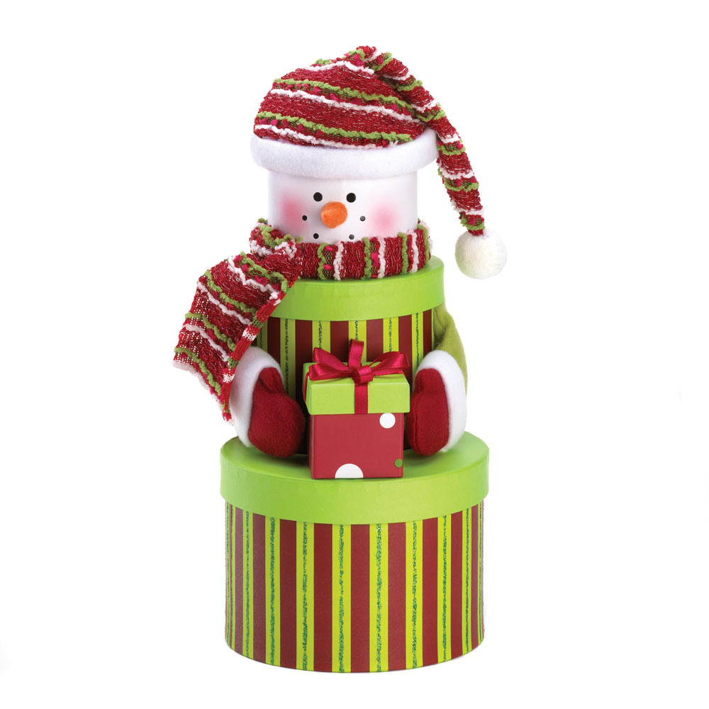 wholesale snowman tiered gift boxes for sale at bulk cheap prices - Wholesale Christmas Gifts