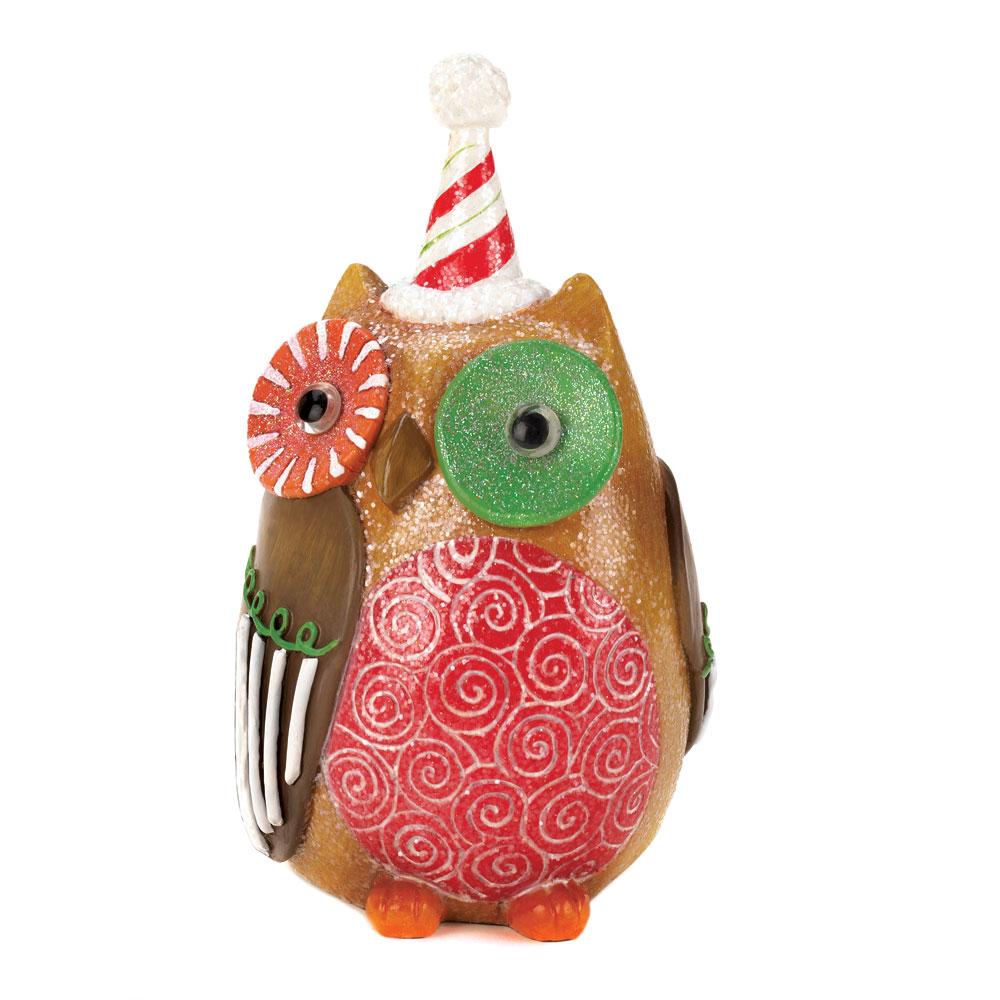 Sweet HOLIDAY Owl Decor