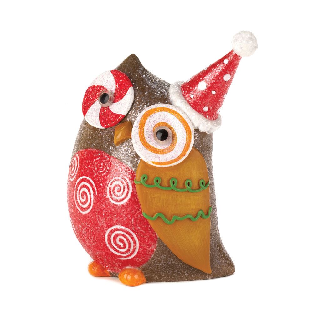 Wholesale sparkly holiday owl decor buy wholesale for Discount christmas decorations