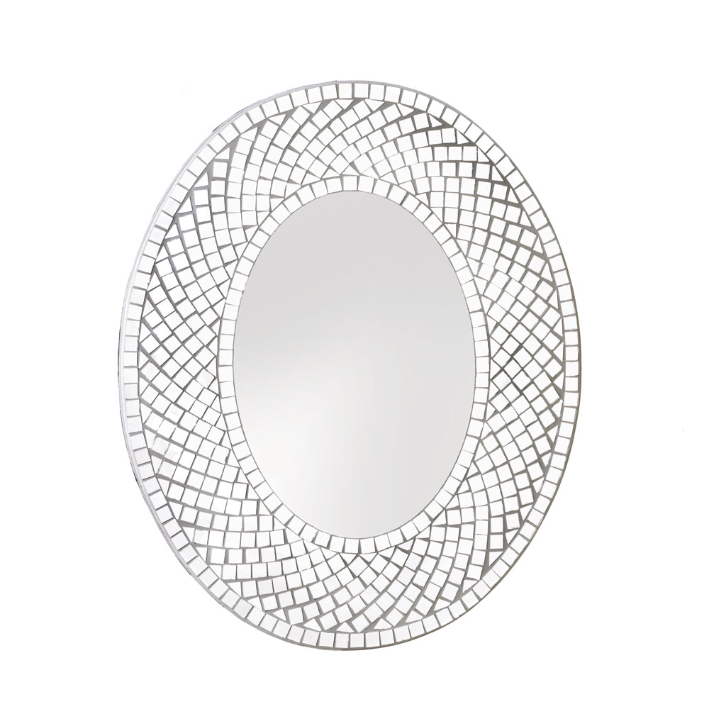 Wholesale mosaic sparkle wall mirror buy wholesale mirrors for Wholesale mirrors
