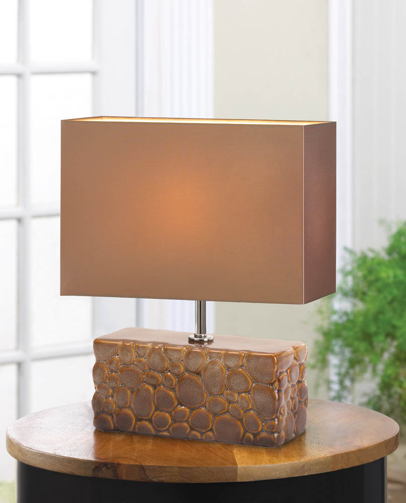 Wholesale river rock table lamp buy wholesale lamps for Rock lamp
