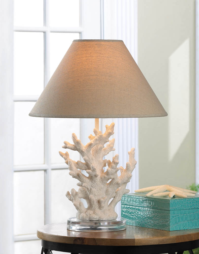 Wholesale white coral table lamp buy wholesale lamps for Images of table lamps