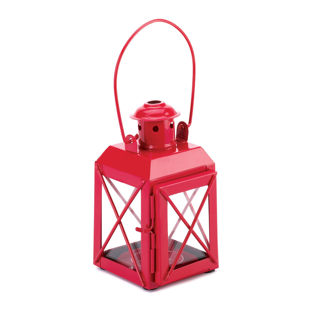 Wholesale Red Railway Candle Lamp for sale at bulk cheap prices!
