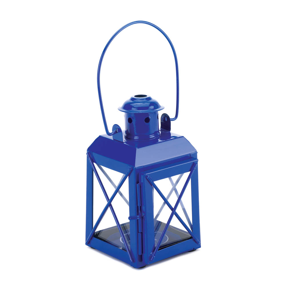 Wholesale Blue Railway Candle Lamp for sale at bulk cheap prices!