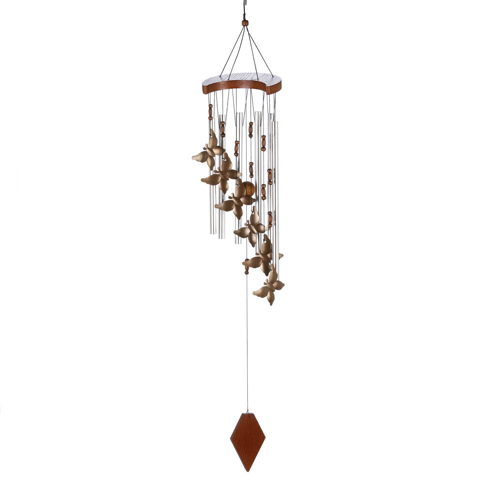 Wholesale Butterfly Flutter Windchime for sale at  bulk cheap prices!