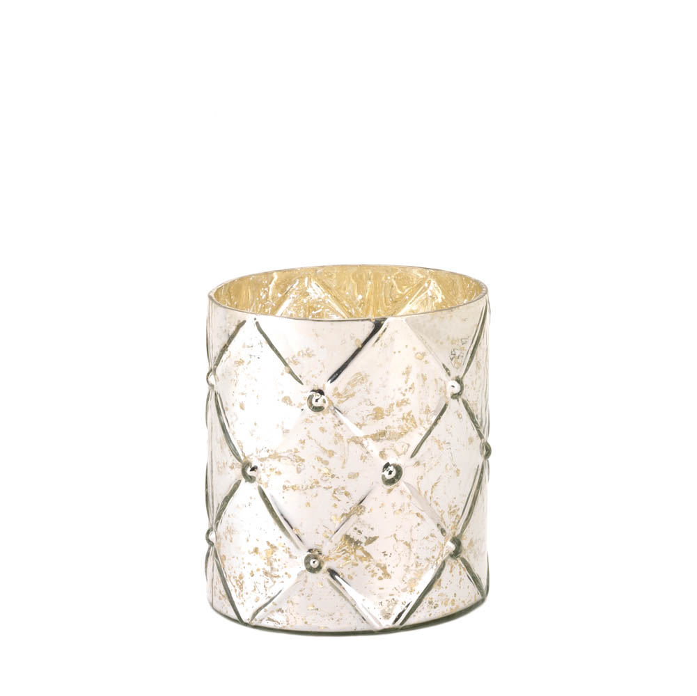 Wholesale Medium Quilted Hurricane Lantern for sale at bulk cheap prices!