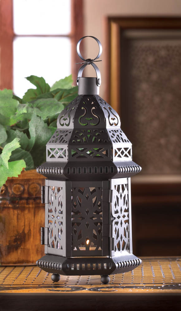 Wholesale Black Moroccan Style Lantern for sale at bulk cheap prices!