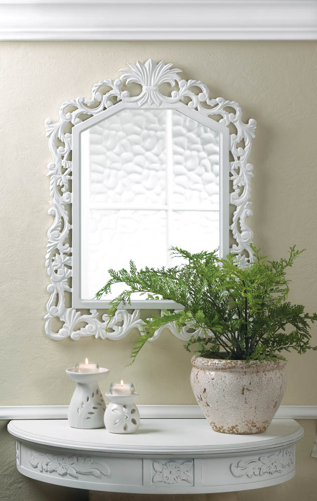 Wholesale fleur de lis wall mirror buy wholesale mirrors for Cheap wall mirrors