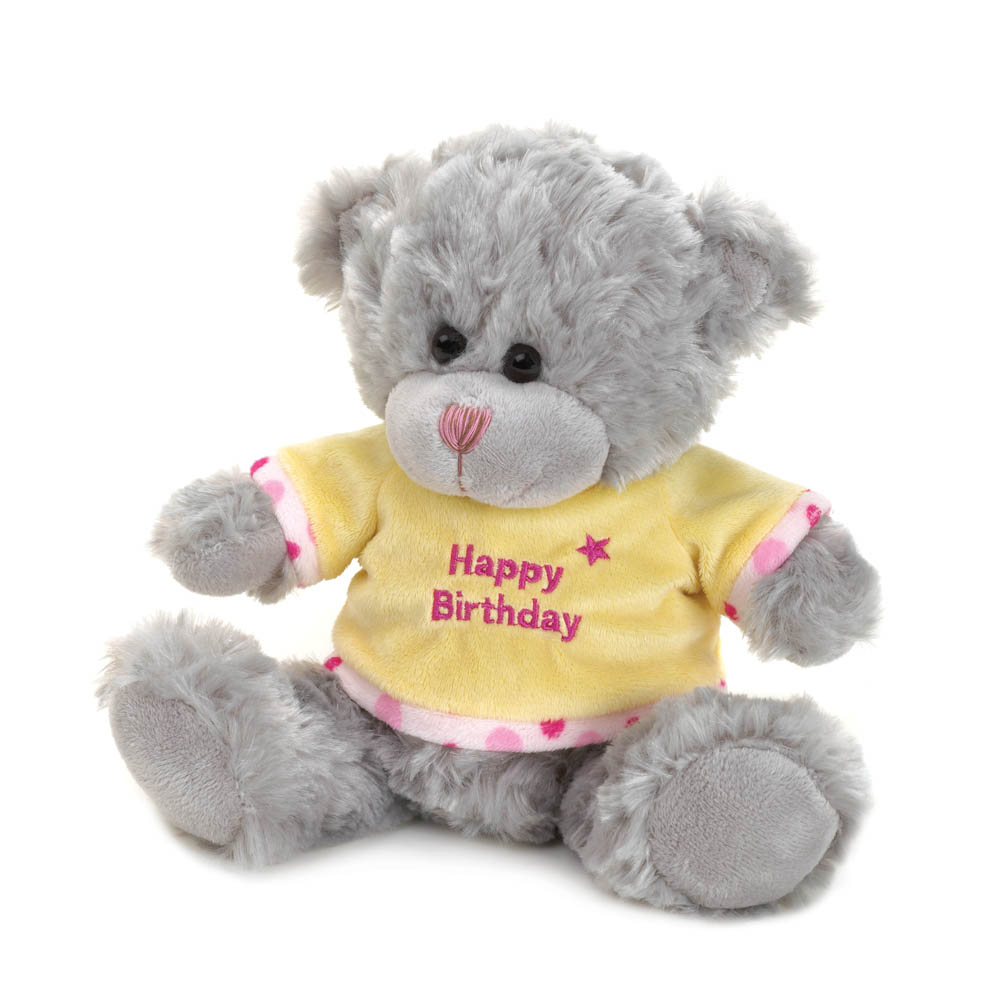 Wholesale Plush Happy Birthday Bear for sale at  bulk cheap prices!