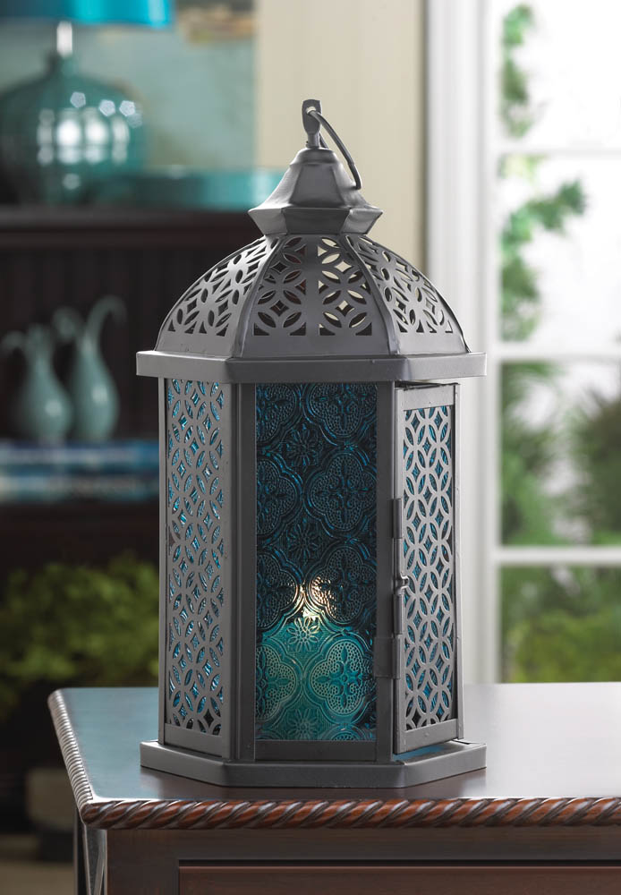 Wholesale blue cove candle lantern buy