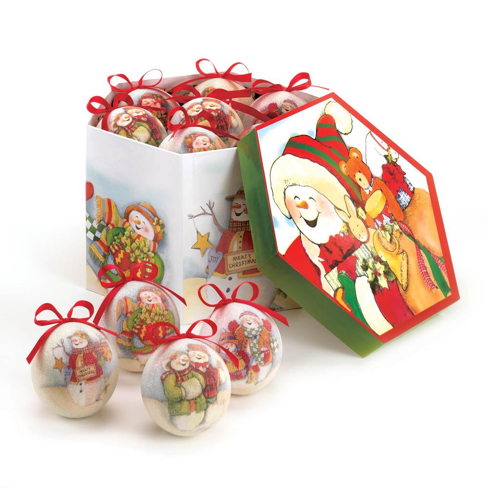 Wholesale Charming Snowman Ornament Set for sale at  bulk cheap prices!